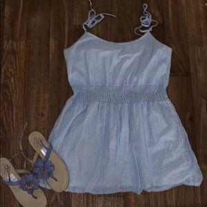 ♥️crew pretty stripped dress